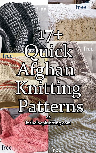 Quick Afghan Knitting Pattterns In The Loop Knitting
