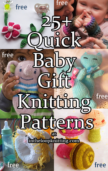 Quick Baby Gift Knitting Patterns