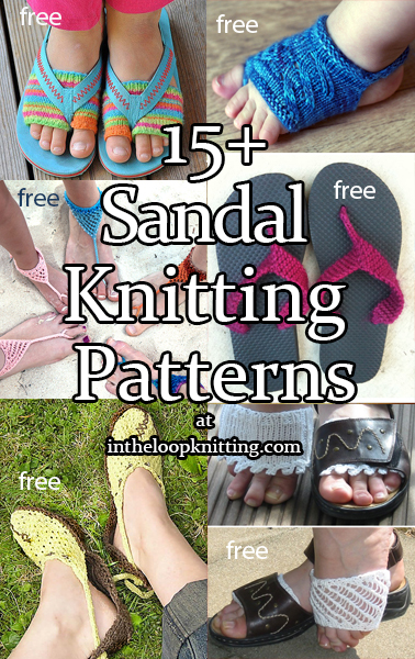 Sandal Knitting Patterns