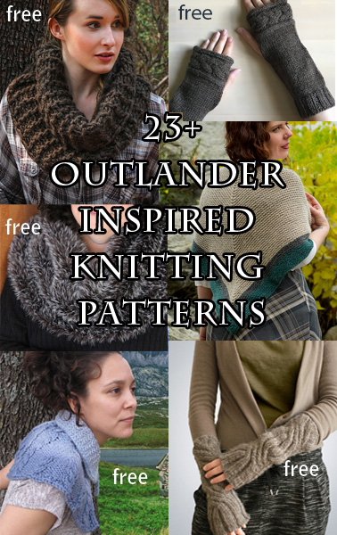 Sassench inspired Knitting Patterns. Most patterns are free.