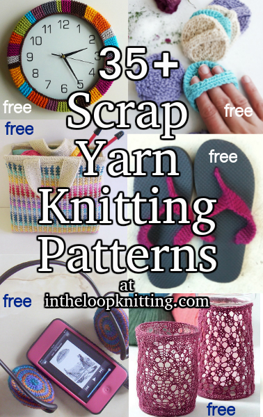Scrap Yarn Knitting Patterns