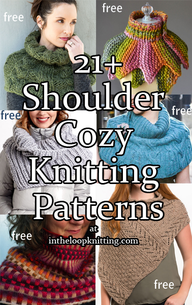 Shoulder Cozy Knitting Patterns