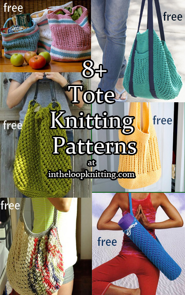 Tote Knitting Patterns