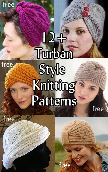 8b8922f4c Turban Hat Knitting Patterns - In the Loop Knitting