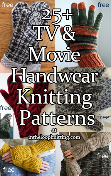 TV and Movie Handwear Knitting Patterns