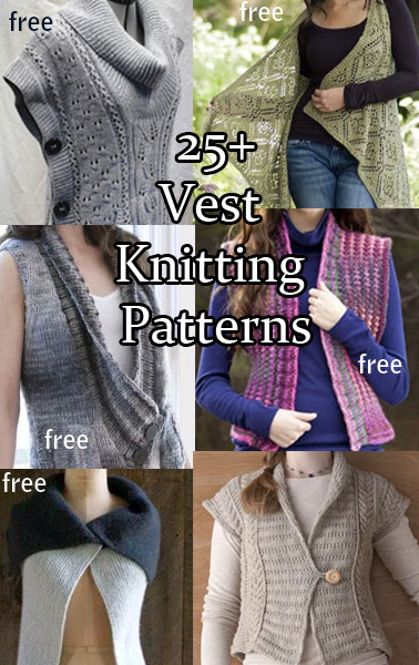 b71c5b54d82393   Vest Knitting Patterns. SKnitting patterns for vests