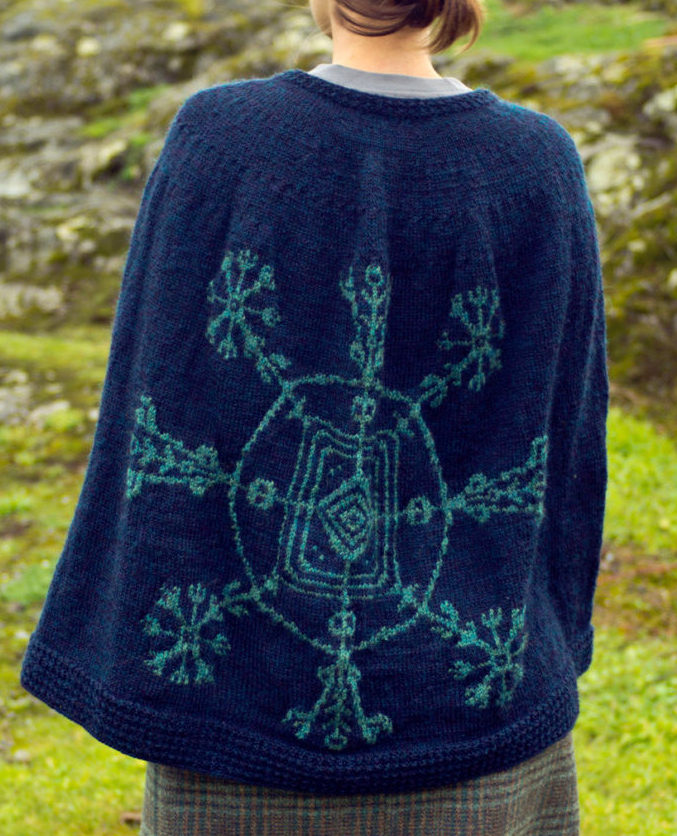 Knitting Pattern for Cape of Invisibility