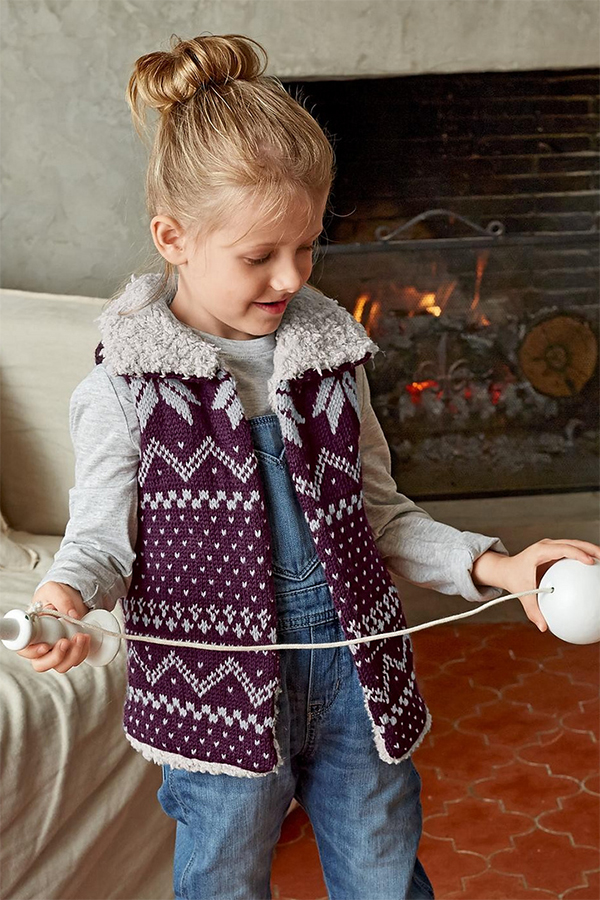 c3107c045 Vests for Babies and Children Knitting Patterns - In the Loop Knitting