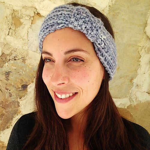 Free knitting pattern for 11th Hour Headband and more projects to finish in one day
