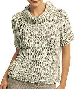 Free Knitting Pattern for One Row Repeat Sweater