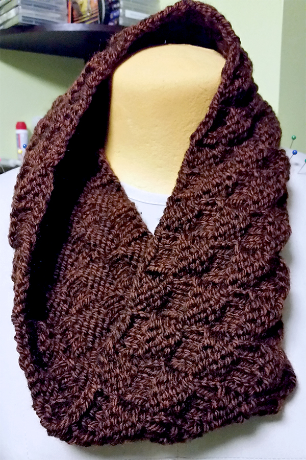 The 3-Hour, 1-Ball Cowl! Free Pattern