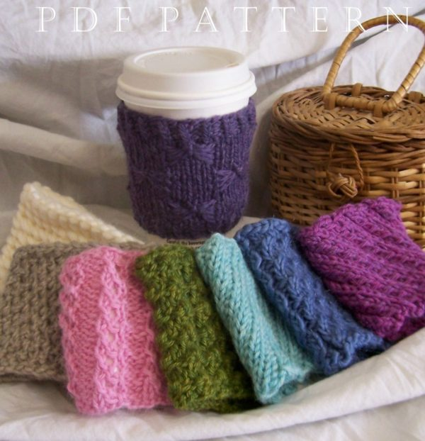 Knitting Patterns for 8 Cup Cuddlers