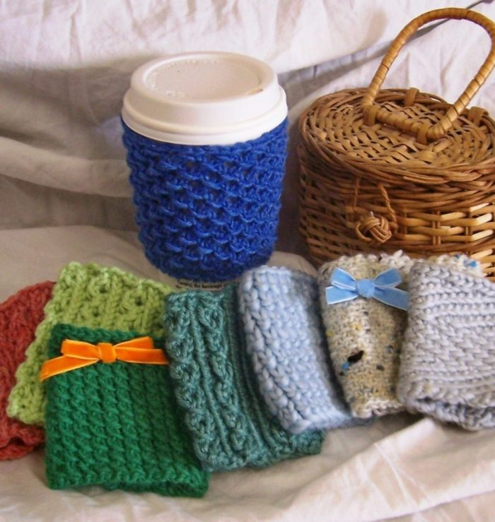 Knitting Pattern Set for 8 Cup Cuddler Cozies