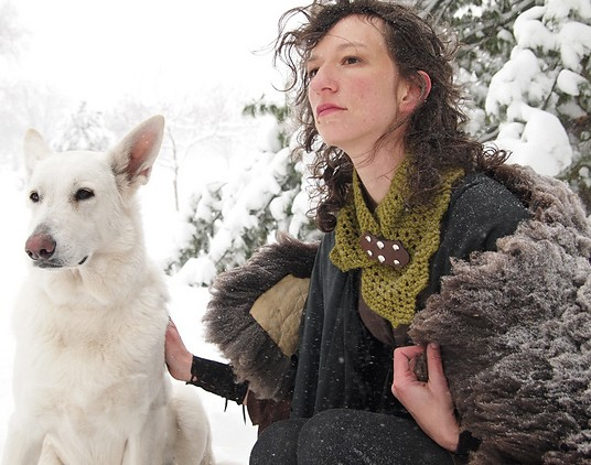 Winterfell Cowl Direwolf Knitting Gameofthrones Medium2