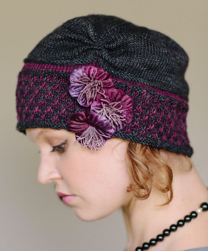 Knitting Pattern for Maisie Cloche