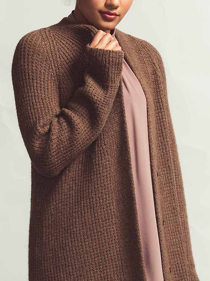 Knitting Pattern for 2 Row Repeat All Spice Cardigan