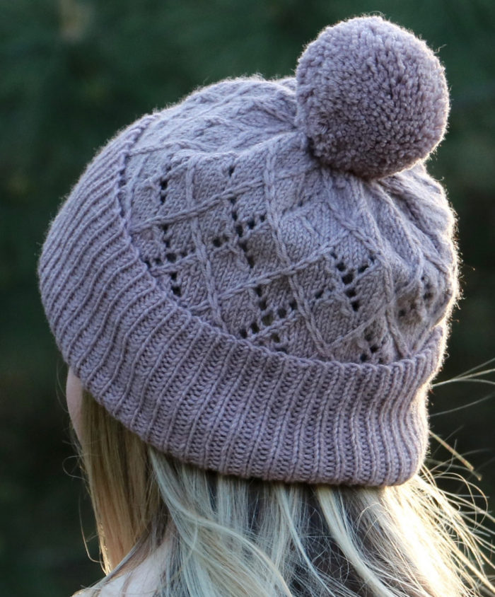 Free Knitting Pattern for Argyle Hat