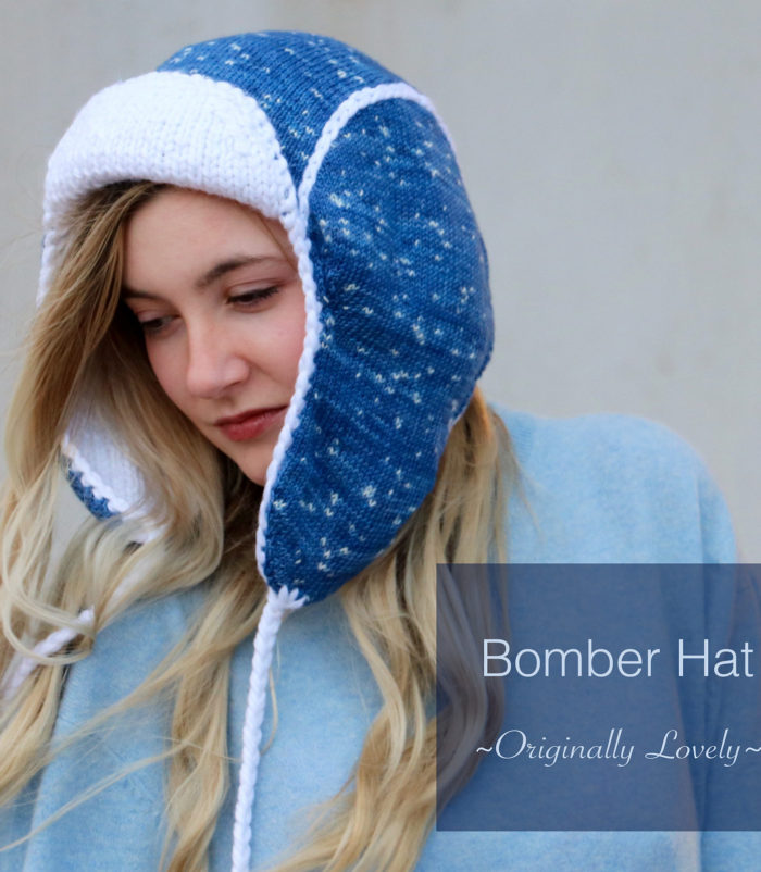 Free Knitting Pattern for Bomber Hat