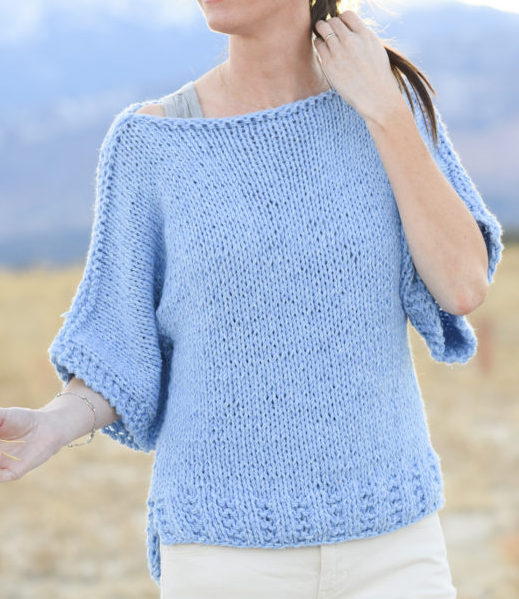 01319ffb7 Easy Sweater Knitting Patterns- In the Loop Knitting