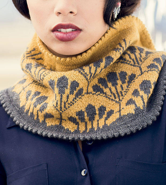 Knitting Pattern for Cassandre Cowl