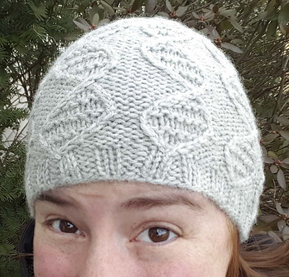 Free Knitting Pattern for GENEie DNA Cable Hat