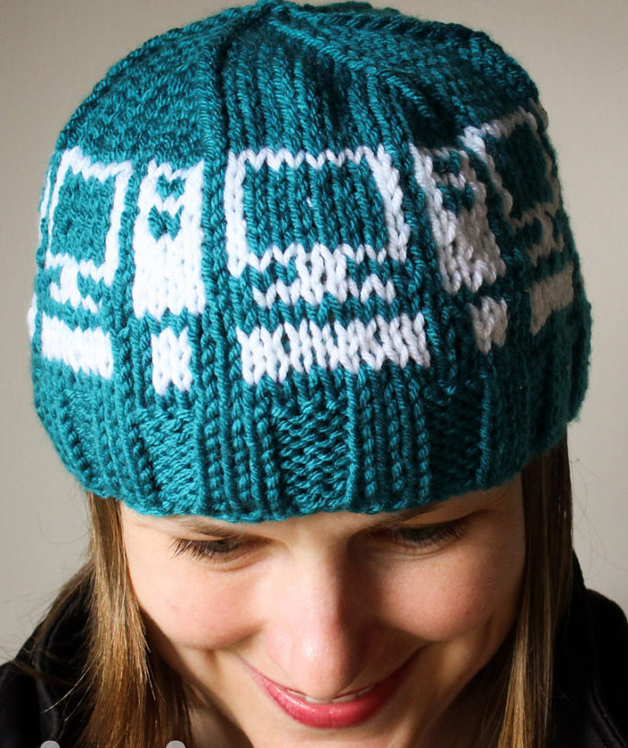 Free Knitting Pattern for Computer Hat