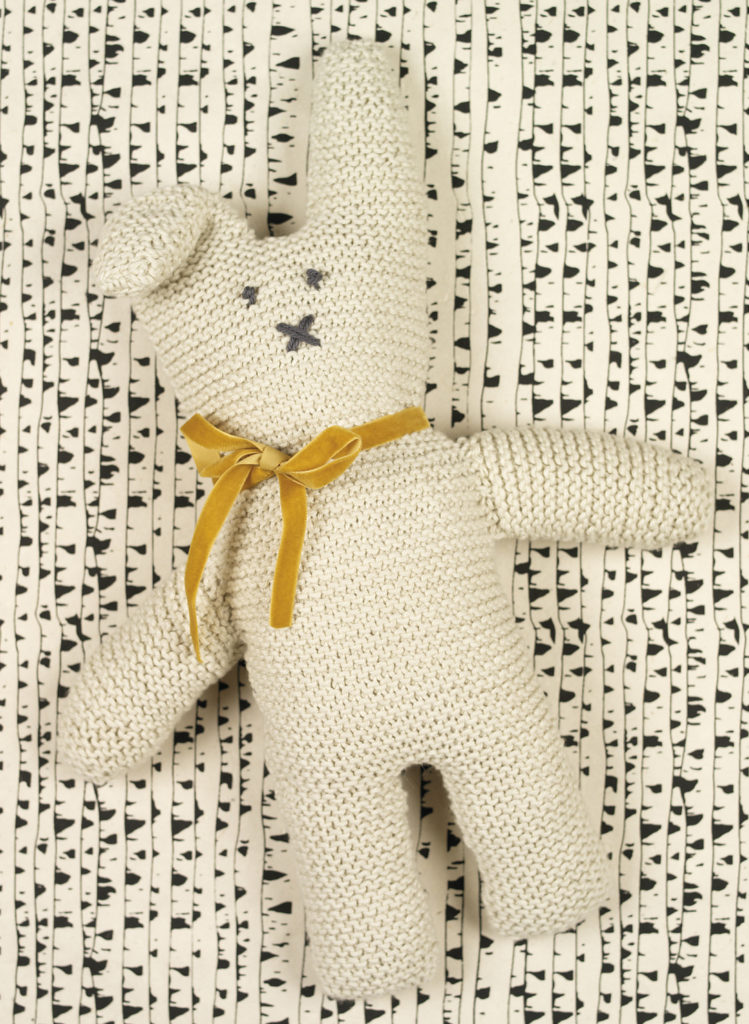 Free Knitting Pattern for Cottontail Rabbit