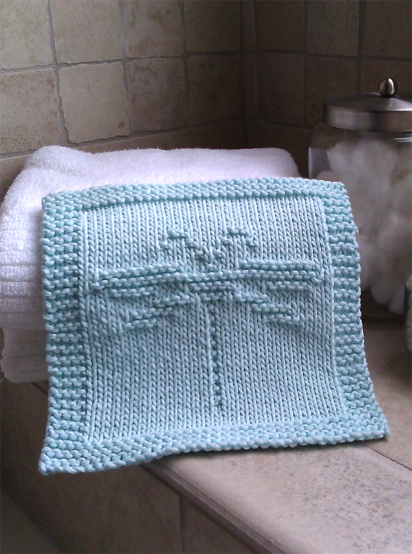 Animal Dishcloth And Washcloth Knitting Patterns In The