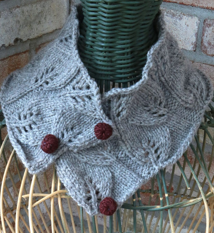 Free Knitting Pattern for Equinox Cowl