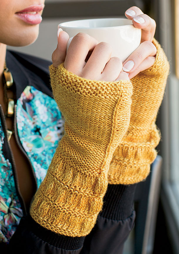 Knitting Pattern for Gefn Mitts