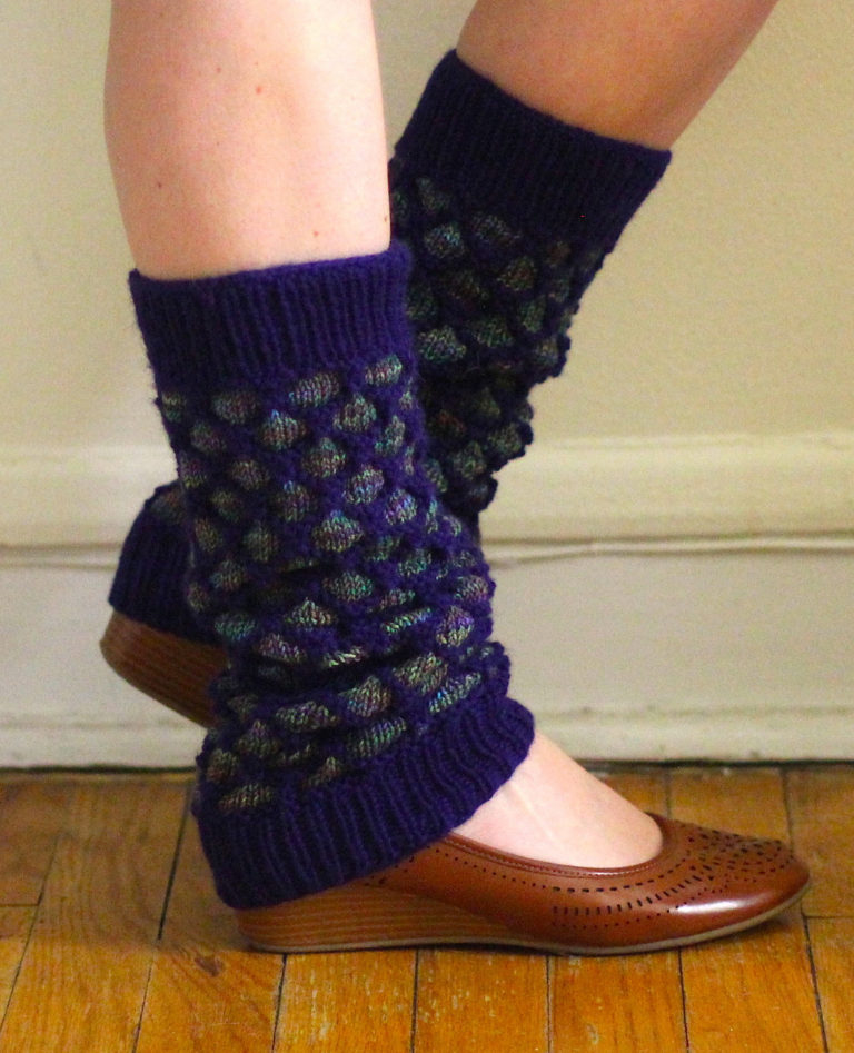 Knitting Pattern for Hyde Park Legwarmers