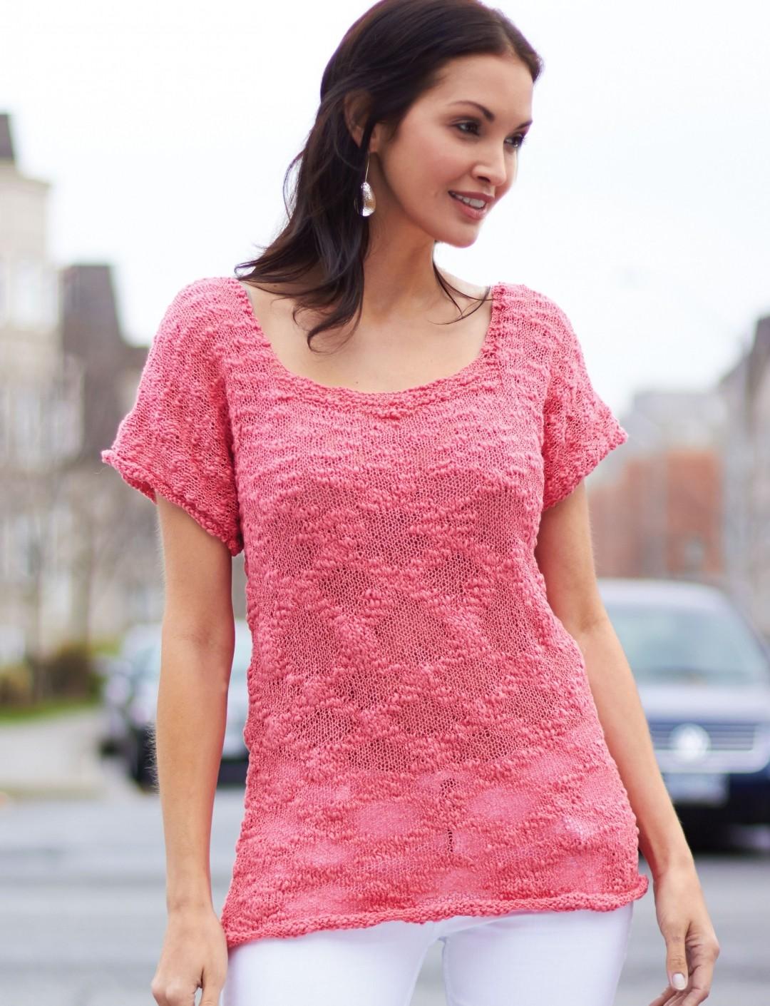 Tops, Tanks, Tees Knitting Patterns - In the Loop Knitting