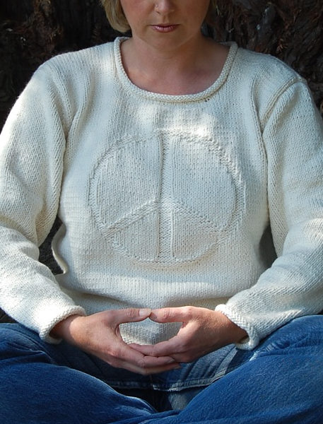 Free Knitting Pattern for Imagine Sweater