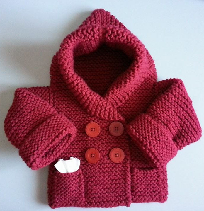 Little One Hoodie Knitting Patterns In The Loop Knitting