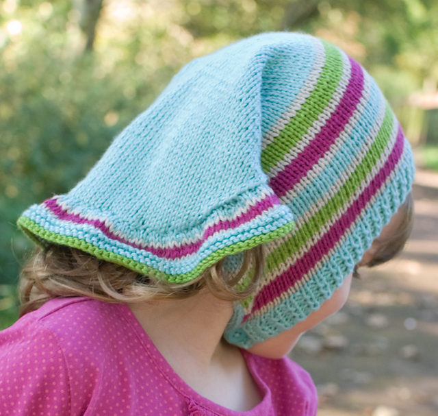 Free Knitting Pattern for Cockerel Kerchief