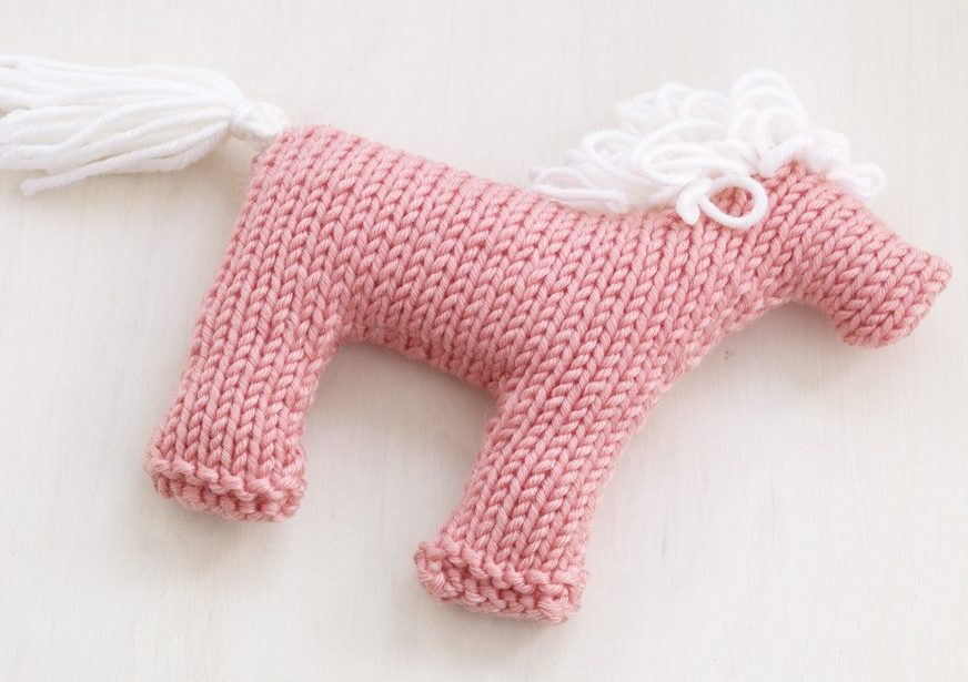 Free Knitting Pattern for Rosy Pony