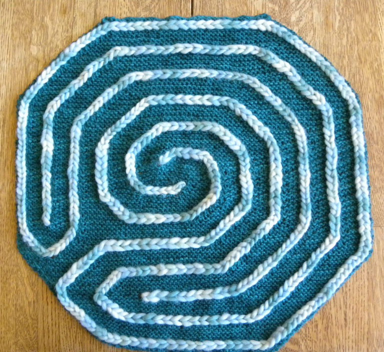 Free Knitting Pattern for Finger Labyrinth