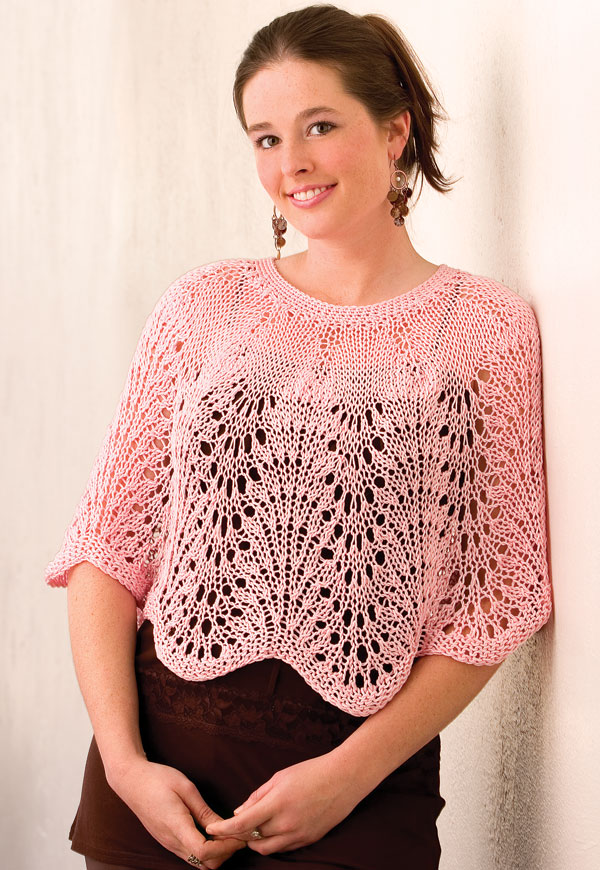 Capelet Knitting Patterns In The Loop Knitting