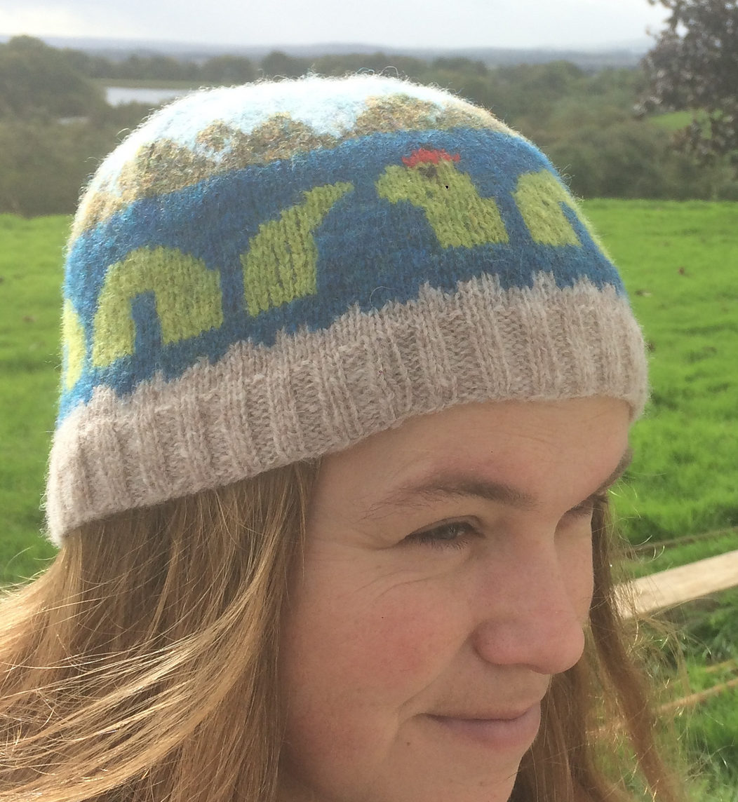 Free Knitting Pattern for Nessie Hat
