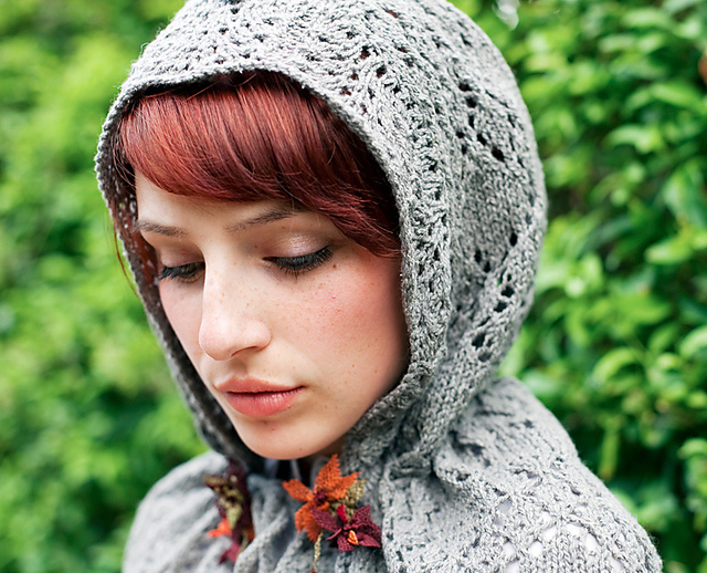 Northanger Abbey Hood Knitting Pattern and more hood knitting patterns