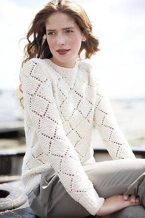 1f7d03ae3 Lace Pullover Knitting Patterns- In the Loop Knitting