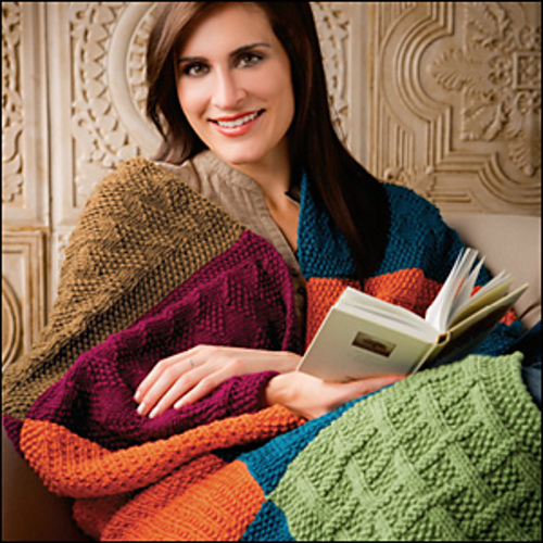 Free knitting pattern for Pack and Go Throw and more stitch sampler patterns