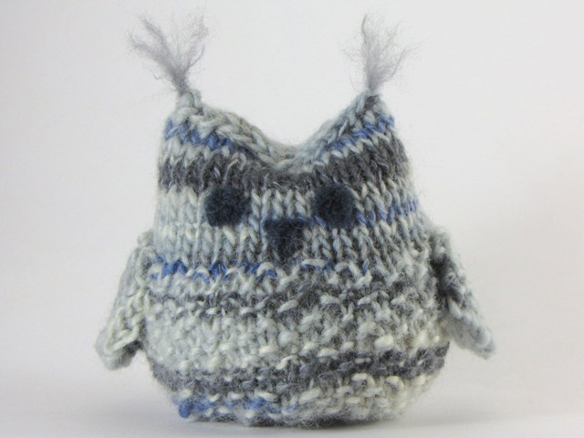 Seamus the Owl Small Softee Free Pattern