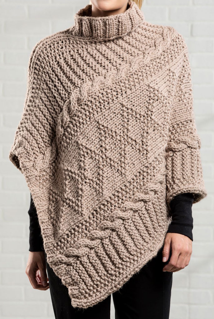 Gansey Or Guernsey Knitting Patterns In The Loop Knitting