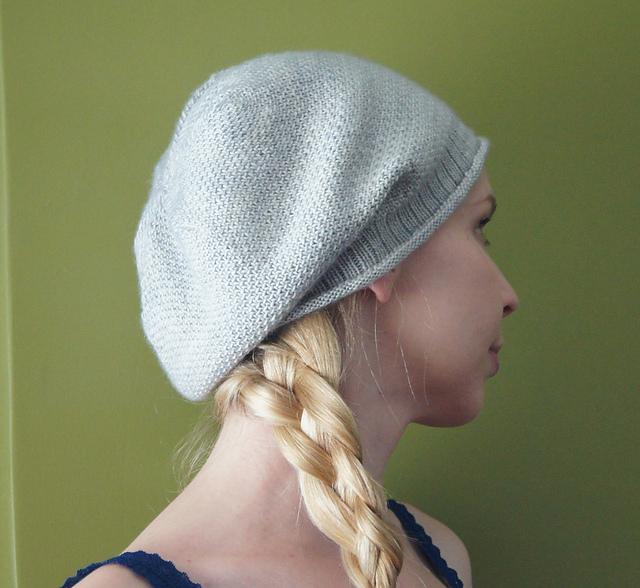 Slouchy Linen Stitch Hat Free Knitting Pattern and more free slouchy hat  knitting hat patterns 1a01b9273aa