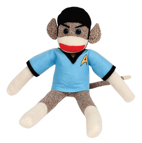 Knitting pattern for Spock monkey - Star Trek sock monkey