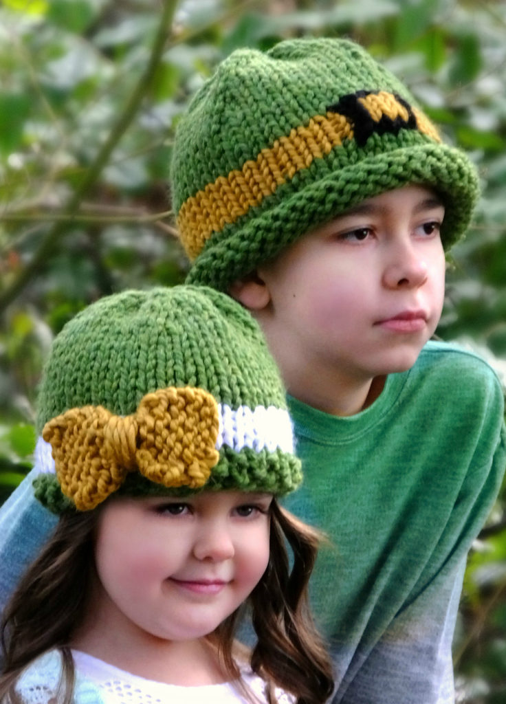 Free Knitting Patterns for St. Patrick's Lucky Hats