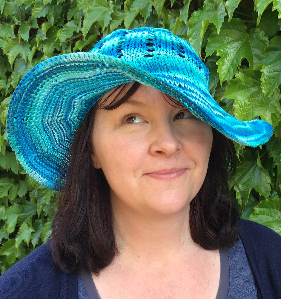 Free Knitting Pattern for Sunny Summer Hat