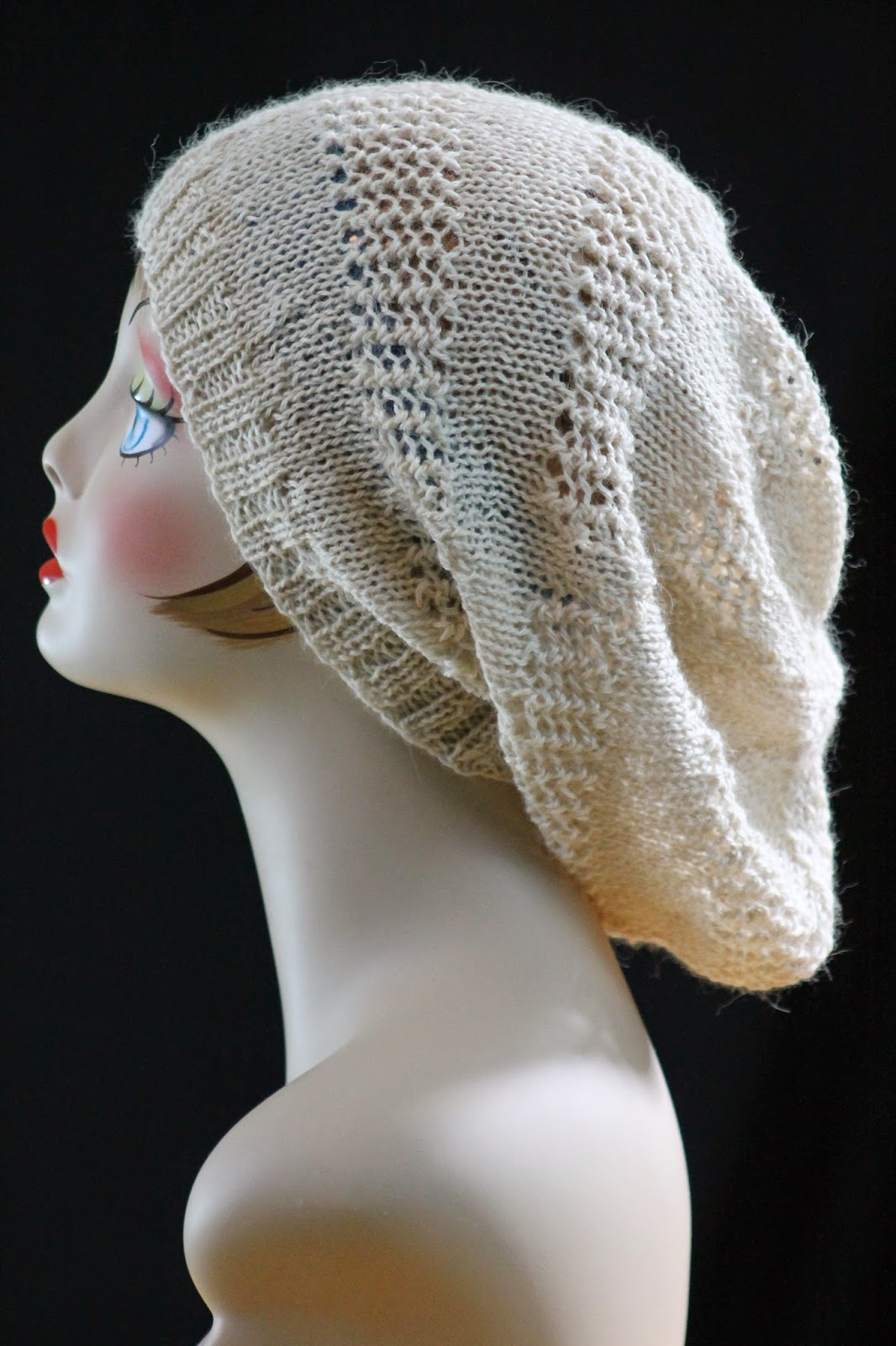 Super Slouch Hat free knitting pattern and more free slouchy hat knitting  patterns 21e1356dea3