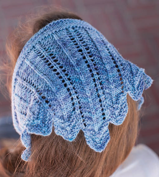 Knitting Pattern for Taking Flight Kerchief